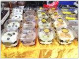 カスタムPlastic PP Cookieまたはキャンデーまたは菓子器(ギフトの包装の錫)