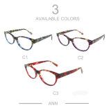 Het nieuwe Frame van de Glazen van Modellen met Transparant Patroon voor Vrouwen