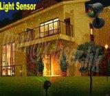 工場販売法屋外夜星のクリスマスの赤い緑のレーザー光線