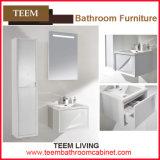 Teem o armário de banheiro moderno branco do estilo do projeto novo do banheiro 2016