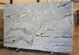 Vizconde White Polished Granite Slab de la India para el suelo