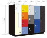 Modernes Vertrags-Laminat-Schlüssel-Verschluss-ändernder Raum-Schließfach