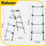 携帯用アルミニウムステップ梯子を折る最上質の金庫