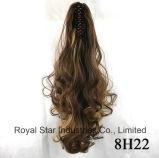 Ponytail хватки парика женщин способа длинний курчавый с выдвижением волос