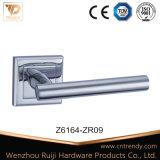 Maniglia in lega di zinco della serratura di mortasare del portello della leva su Rosa quadrata (Z6164-ZR09)