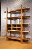 غلّة كرم أسلوب جوزة رفّ كتب خشبيّة لأنّ بيتيّ أو مكتب ([كغ-005])