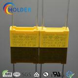 상자에 의하여 금속을 입히는 폴리프로필렌 필름 축전기 (X2 0.1UF/275V)