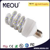능률적인 나선 LED 에너지 절약 전구