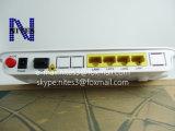 La nueva red óptica original ONU de Zxa10 F600 Gpon con 4 puertos de Ethernet sin el pote de la voz, se aplica al modo de FTTH, interfaz inglés