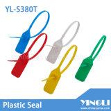 당기십시오 단단한 처분할 수 있는 주문을 받아서 만들어진 플라스틱 물개 꼬리표 (YL-S380T)를