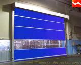 Промышленная электрическая дверь штарки завальцовки PVC высокоскоростная (HF-J304)