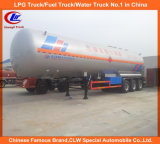 Hochleistungs-ASME 3 Axle 20t 25t 30t LPG Tanker Semi Trailer für Sale