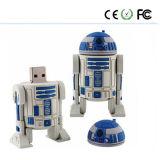 별 전쟁 PVC 물자 USB 섬광 드라이브 (SW)