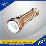 Tubo flessibile del metallo di Flangle allineato PTFE/Teflon dell'acciaio inossidabile di Yangbo