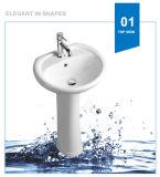 Dispersore di ceramica della lavata del bacino di basamento della lavata di Weidansi (WDS-P7204)
