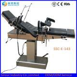 Mesa de operaciones quirúrgica eléctrica fluoroscópica costada alta calidad certificada ISO/Ce