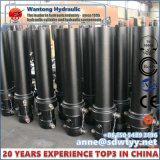 5-Stages, einzelner verantwortlicher teleskopischer Hydrozylinder