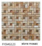 Ultimo mosaico di pietra 2016 della parete della costruzione (FYSG049)