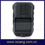 1080P de Versleten Videocamera's van de politie Lichaam voor de Politie van Kanonnen en van Wapens (ZP605C)