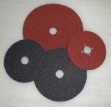 El disco de /Sanding del disco de la fibra del óxido de aluminio/cubrió el abrasivo