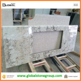 Bancadas de China White Galaxy Granite para Kitchen