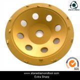 Restauração de concreto PCD Cup Wheels for Epoxy Coating Removal