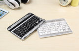 Clavier sans fil en aluminium de Bluetooth 3.0 de fente ultra-mince pour l'iPad mini