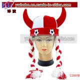 Presente do negócio do chapéu do carnaval de Halloween do futebol da dobra do chapéu do partido (C2001)