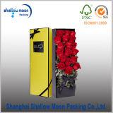 Contenitore di imballaggio rotondo Handmade su ordinazione del fiore (QYZ385)