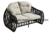 新しいデザイン熱い販売の総合的な藤の屋外の家具のソファーはセットしSinleかDouble/3シート(YT609)によって庭及びホテルのために使用する