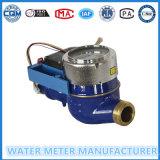 Consumo do medidor de água para o medidor básico do volume de água
