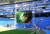 El alto brillo P10 SMD al aire libre impermeabiliza la pantalla a todo color del vídeo del LED