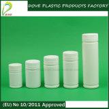Bottiglia di plastica della capsula di figura rotonda dell'HDPE 80ml
