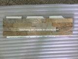 Wall Claddingのための砥石で研がれたQuartz Slate Stone