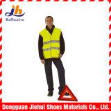 Panciotto d'avvertimento di sicurezza dei vestiti di alto traffico riflettente di visibilità