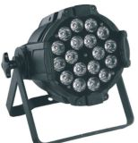 Arandela de la pared 18PCS Rgbaw Aliminum LED PAR64