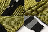 Maglione costolato dei bambini di Argyle dell'alta chiusura lampo del collo