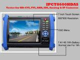 7 '' Cvi, Tvi, Ahd, Sdi de Monitor van het Meetapparaat van kabeltelevisie (IPCT8600HDAS)