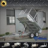 Materieller hydraulischer hinterer Speicherauszug-Stahlschlußteil für schwere Beförderung