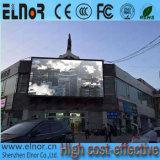 Diodo emissor de luz ao ar livre da cor cheia P16 do consumo das baixas energias que anuncia o indicador
