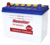 Батарея Nx110-5 батарей автомобиля батареи автомобиля свинцовокислотная