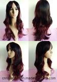 2016 venta caliente de la manera peluca de pelo sintético