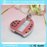 펀던트 심혼 모양 보석 USB 펜 드라이브 (ZYF1906)