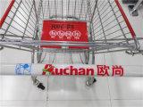 Carrello di acquisto del supermercato di alta qualità nello stile europeo
