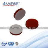 8-425 tubo de ensaio de vidro ambarino da linha de parafuso para a análise da HPLC