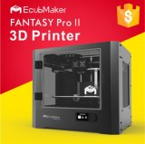 Venta directa de la fábrica de Ecubmaker 300 * 200 * 200mm Impresora doble de Stampanti 3D de la boquilla para la venta