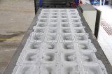 Сразу испаренный блок льда делая машину