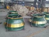 Minenmaschiene-Kegel-Zerkleinerungsmaschine-Abnützung zerteilt Umhang und konkaves
