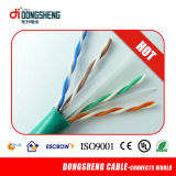 CE / RoHS / ETL LAN Cable Sólido 0,57mm / 0,55mm UTP CAT6
