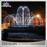 indicatore luminoso della fontana di natale LED di 24V/220V 3m LED